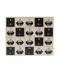 Rangement décoratif 20 tiroirs - HOME DECO FACTORY