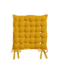 Coussin de chaise tressé 40x40 coton - TODAY