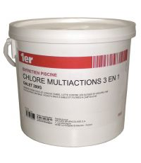 Traitement piscine Chlore multi-action 3 en 1 galets 200g - 1ER