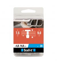 Boîte de 20 rivets aveugles Ø 4.8 x 14 mm - SCELL IT