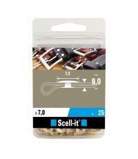 Boîte de 25 rivets tubulaires - Ø 7 mm - SCELL IT