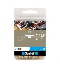Boîte de 25 rivets tubulaires Ø11 mm - SCELL IT