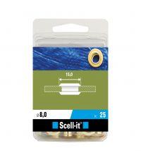 Boîte de 25 oeillets - Ø 8 mm - SCELL IT