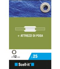 Boîte de 25 oeillets Ø 12 mm - SCELL-IT