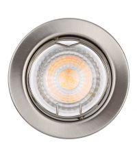 3 Spots à Encastrer Orien LED 5,5W Nickel Brossé - INVENTIV'
