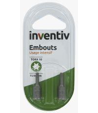 EMBOUT TORSION T10 25MM X2 - INVENTIV