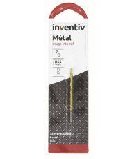 Foret métal HSS TITANE D2 L 140 - INVENTIV
