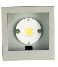 2 Appliques Extérieur LED 7W 412lm Inox - INVENTIV