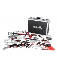 Mallette à outils de mécanicien 119 pièces - INVENTIV