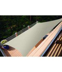 Voile ombrage rectangulaire Primo 2x1,4m Ivoire - INVENTIV