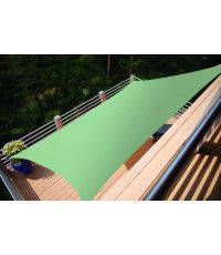 Voile ombrage rectangulaire Primo 2x1,4m Vert - INVENTIV