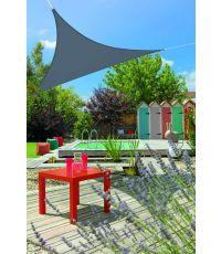 Voile ombrage triangulaire Primo 3m Ardoise - INVENTIV