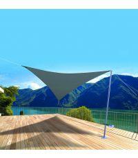 Voile ombrage triangulaire Primo 5m Ardoise - INVENTIV