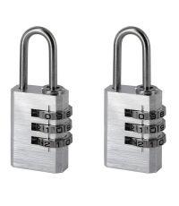 Cadenas à 3 Codes Aluminium 20mm - INVENTIV