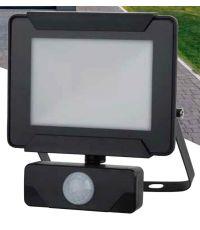 Projecteur extérieur LED détection Héra 10W 800lm noir - INVENTIV