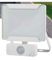 Projecteur extérieur LED détection Héra 10W 800lm blanc - INVENTIV