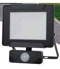 Projecteur extérieur LED détection Héra 20W 1400lm noir - INVENTIV