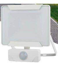 Projecteur extérieur LED détection Héra 20W 1400lm blanc - INVENTIV