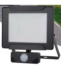 Projecteur extérieur LED détection Héra 30W 2100lm noir - INVENTIV
