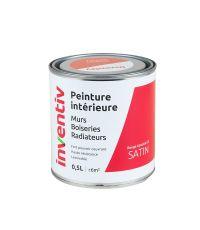 Peinture Murs Boiseries Radiateurs satin 0,5L rouge lipstick 3 - INVENTIV