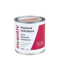 Peinture Murs Boiseries Radiateurs satin 0,5L rouge grenadine 3 - INVENTIV