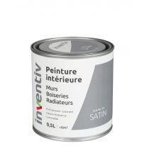 Peinture Murs Boiseries Radiateurs satin 0,5L gris fer 2 - INVENTIV