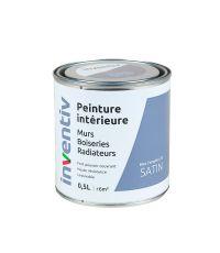 Peinture Murs Boiseries Radiateurs satin 0,5L bleu tempête 3 - INVENTIV