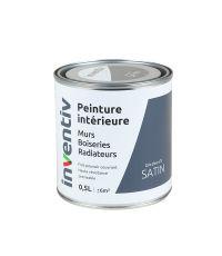 Peinture Murs Boiseries Radiateurs satin 0,5L gris zinc 2 - INVENTIV