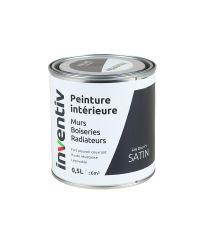 Peinture Murs Boiseries Radiateurs satin 0,5L gris zinc 1 - INVENTIV