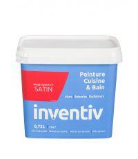 Peinture Cuisine&bain satin 0,75L rouge lipstick 3 - INVENTIV