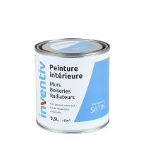 Peinture Murs Boiseries Radiateurs satin 0,5L bleu marin 5 - INVENTIV