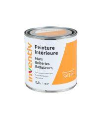 Peinture Murs Boiseries Radiateurs satin 0,5L orange caramel 6 - INVENTIV