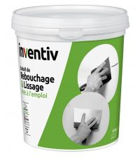 Enduit Rebouchage et Lissage pâte 1,5kg - INVENTIV