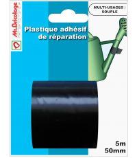 Adhésifs réparation Noir 5Mx50mm