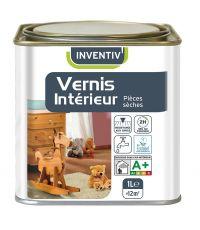 Vernis boiseries intérieures 1L chêne doré - INVENTIV