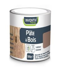 Pâte à bois coloris Pin 500 g - INVENTIV
