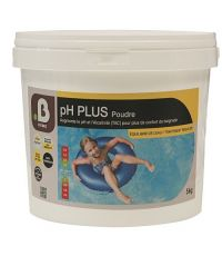 Traitement piscine Poudre pH plus (équilibre de l'eau) - B HOME