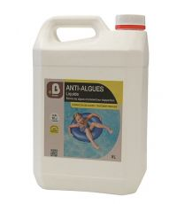 Traitement piscine Anti-algue liquide concentré 5L - B HOME