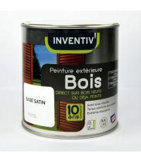 Peinture Bois 10 ans Base Pastel 0,5L - INVENTIV