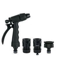 Kit arrosage pistolet + 2 raccords automatique Ø15mm - 1ER