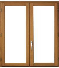 Fenêtre bois 115 x 100 cm.