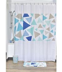 Rideau de douche polyester 180x200cm - geometrik - TENDANCE
