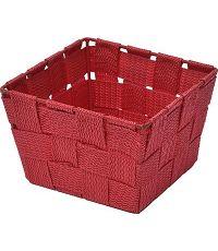 Panier polyester - rouge - TENDANCE