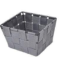 Panier polyester - gris - TENDANCE