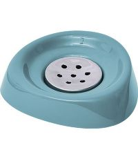 Porte savon conique - vert d eau