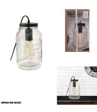 Lampe à poser  29 x 15.5 x 15.5cm - HOME DECO FACTORY