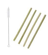Paille en bambou x4 - COOK CONCEPT