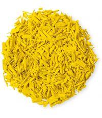 Paillage organique coloré jaune sac 7,5 L