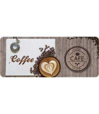 Tapis de cuisine coffee - 120 x 50