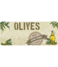 Tapis de cuisine huile d'olives - 120 x 50